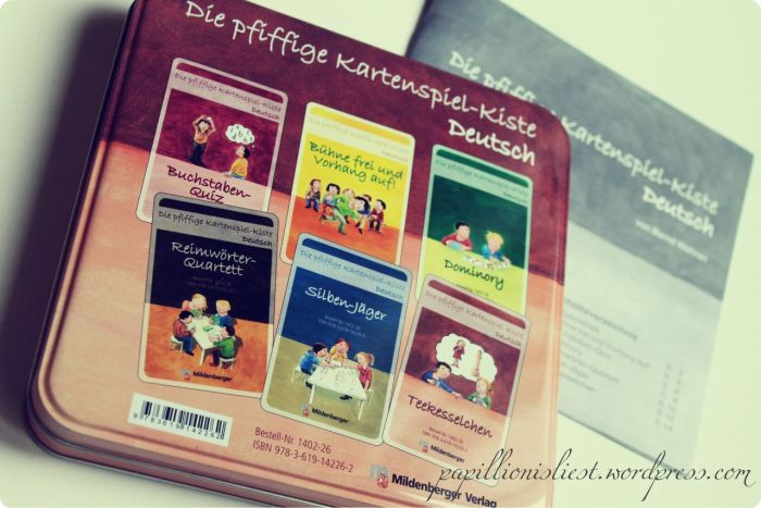 Die pfiffige Kartenspiel-Kiste Deutsch