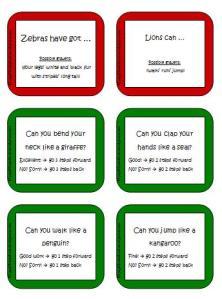 Brettspielkarten_wild animals