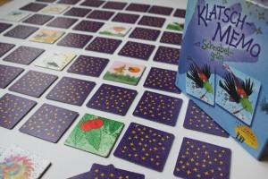 Klatsch-Memo mit Schnabelgrün