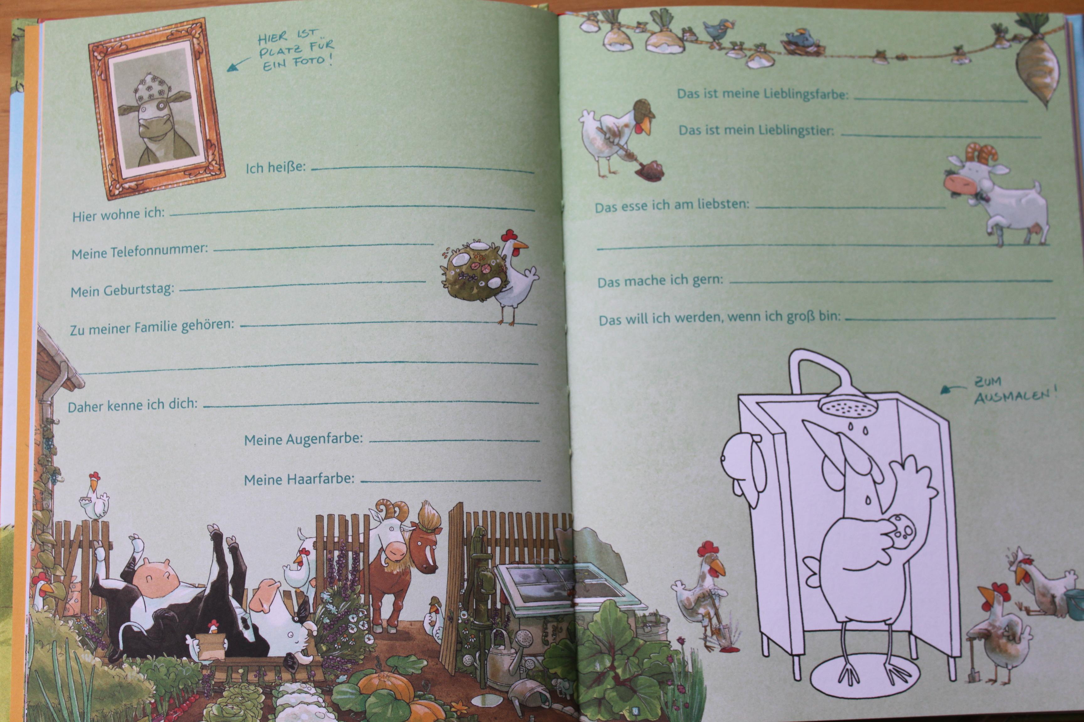Lieselotte Freundebuch