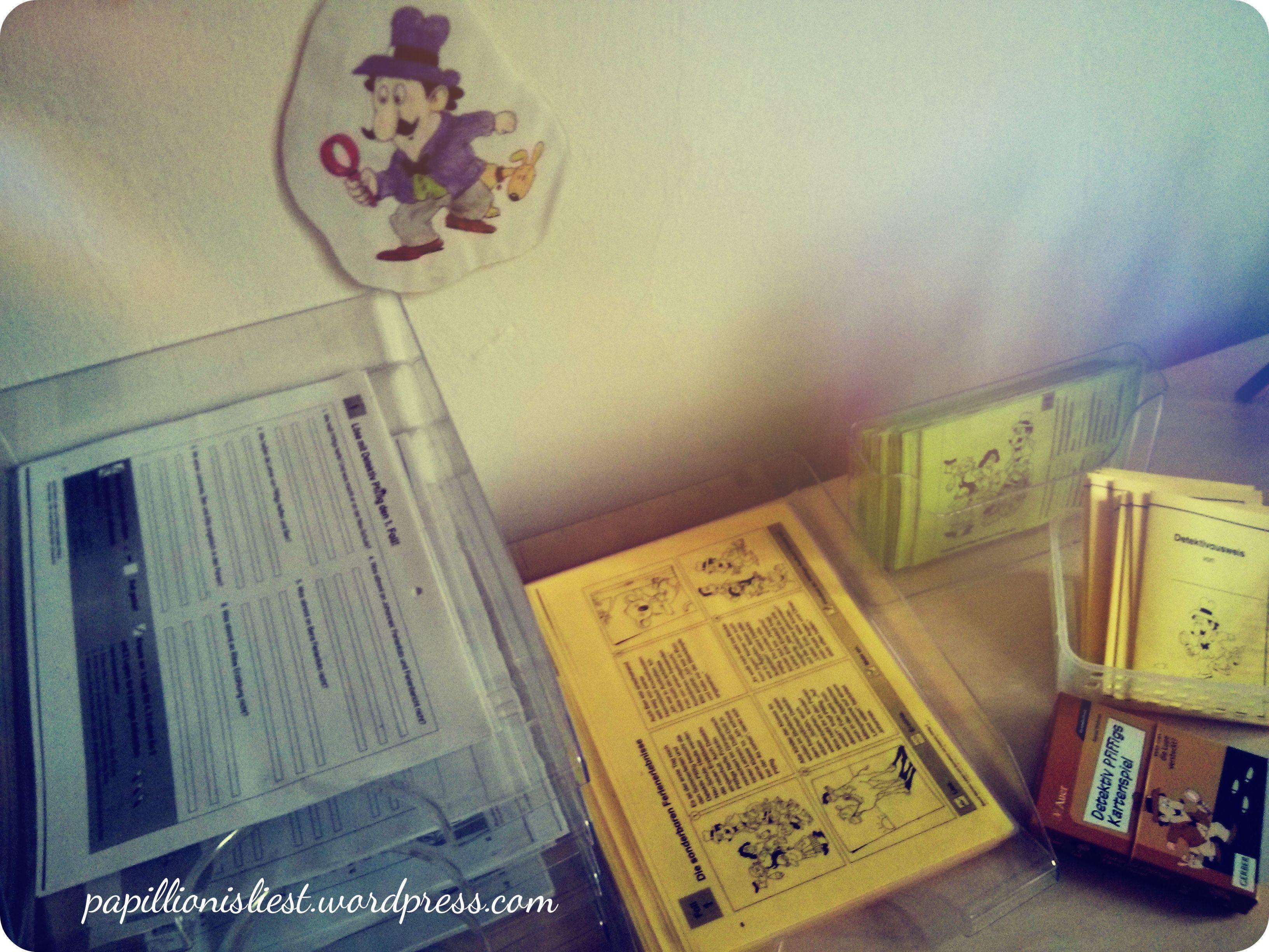 Lesen und Schreiben mit Detektiv Pfiffig
