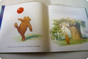 Wo ist der Ball, kleiner Bär?