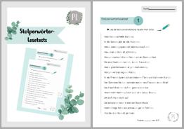 Stolperwörter-Lesetest_Unterrichtsmaterial