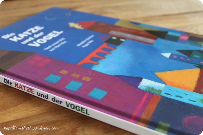Die Katze und der Vogel_Paul Klee
