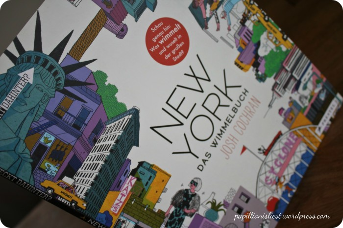 New York das Wimmelbuch Josh Cochran