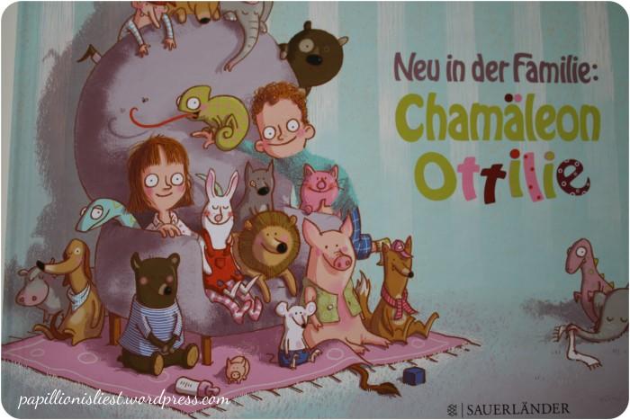 Neu in der Familie: Chamäleon Ottilie