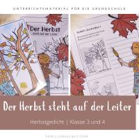 Peter Hacks - Der Herbst steht auf der Leiter