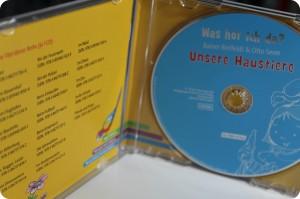 Unsere Haustiere Hör-CD
